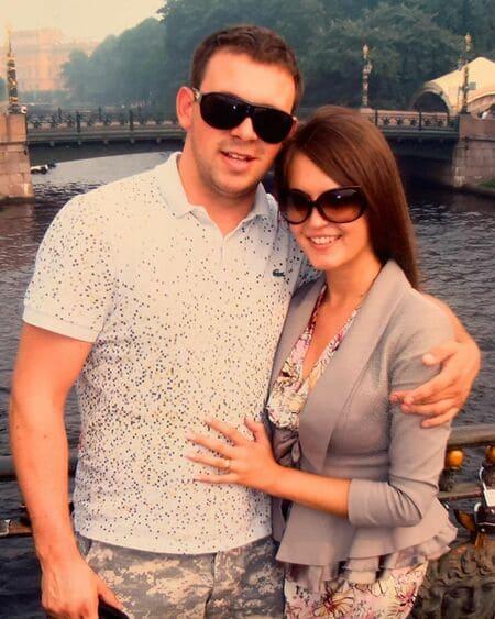 Анна Бузова с мужем