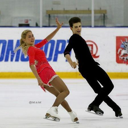 Диана Дэвис на коньках