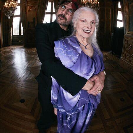 Вивьен Вествуд и ее муж Андреас Кронталер