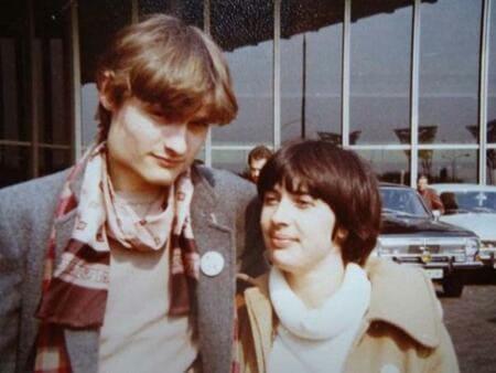 Александр Васильев и его жена