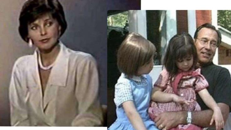 Ирина Мартынова и Андрей Кончаловский с дочерьми