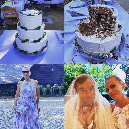 Коллаж из свадебных фото