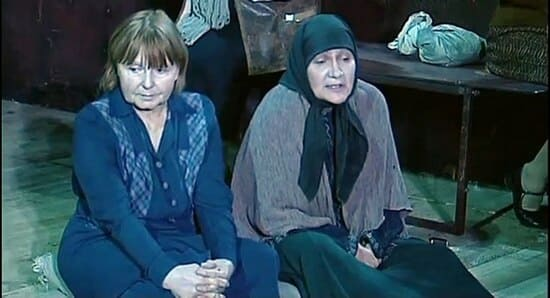 Людмила Ивановна в спектакле «Крутой маршрут»