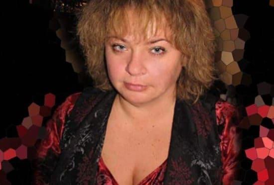 Александра Табакова в зрелом возрасте