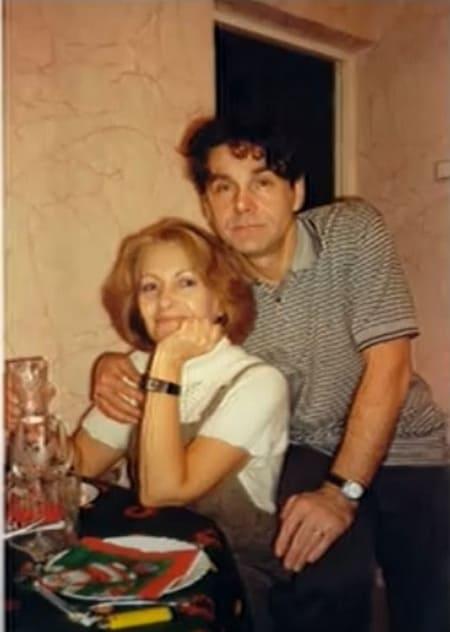 Сергей Маковецкий и его жена Елена в молодости