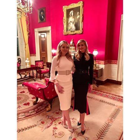 Иванка и Тиффани Трамп