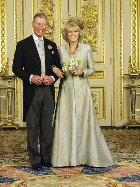 Свадебный портрет принца Чарльза и Камиллы Паркер-Боулз
