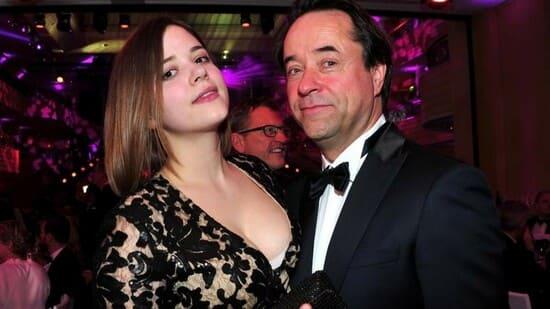 Полина Лиферс с отцом