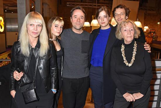 Полина Лиферс с женихом и семьей