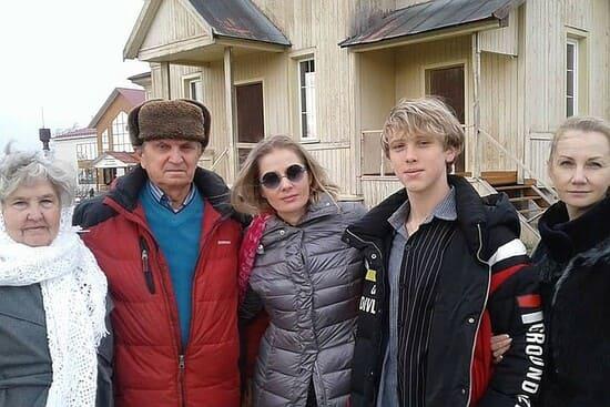 Ирина и Иван на родине Валерия Золотухина
