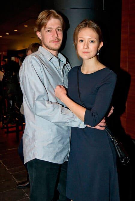 Никита Ефремов и актриса Яна Гладких
