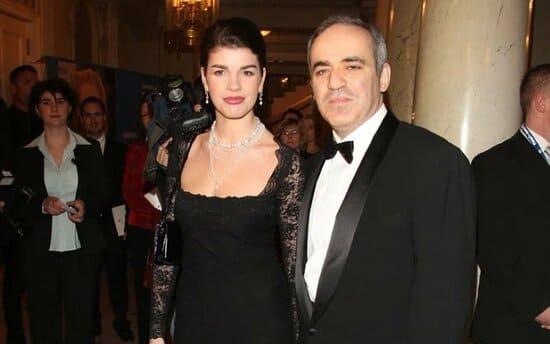 Гарри Каспаров с третьей женой