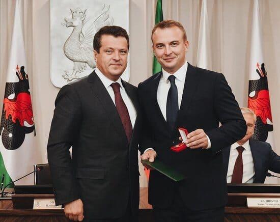 Игорь Сивов с мэром Казани