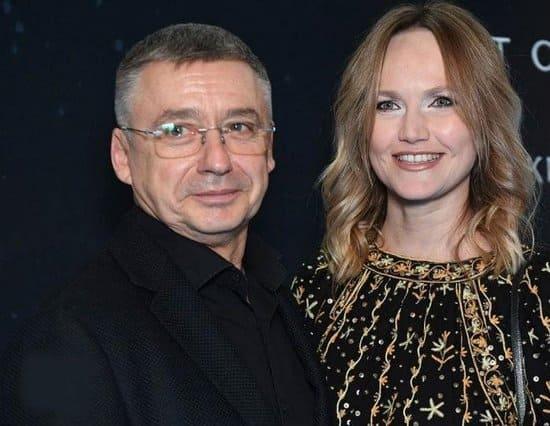 Антон Табаков и его четвертая жена