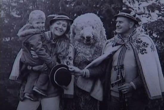 Анна Герман с мужем и сыном