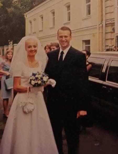Свадьба Юлии и Алексея Навального
