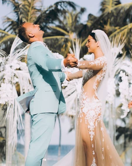 Свадьба Нюши и Игоря на Мальдивах