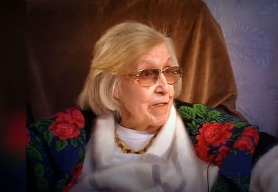 Валентина Леонтьева в последний год жизни