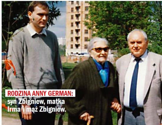 Сын, муж и мать Анны Герман сейчас