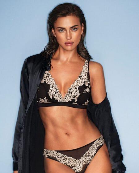 Контракт с Intimissimi стал одним из первых успехов Ирины в моделинге