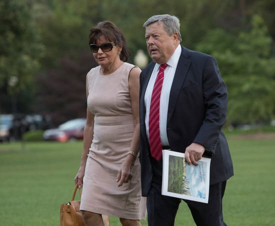 Родители Мелании впервые прибыли в Белый дом