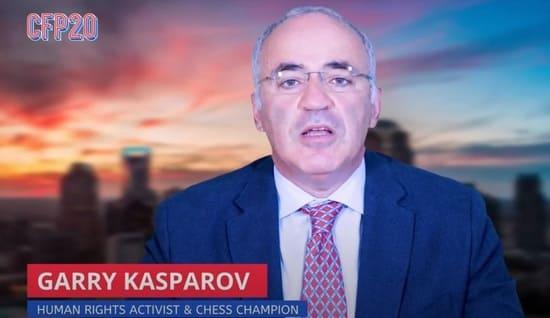 Гарри Каспаров в ООН