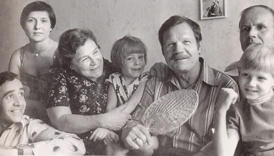 Семья Пуговкина