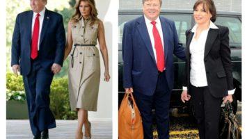 Дональда и Меланию Трамп, Виктор и Амалия Кнавс