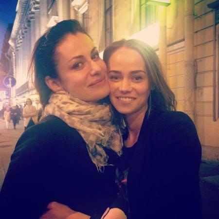 Анна Ковальчук и Екатерина Ковальчук