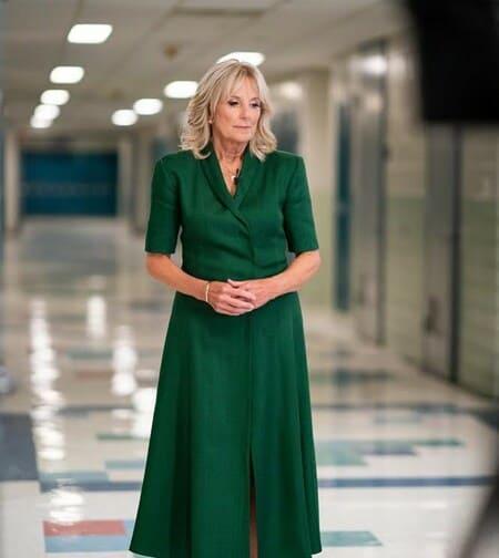 Стиль Джилл Байден напоминает американцам учительницу