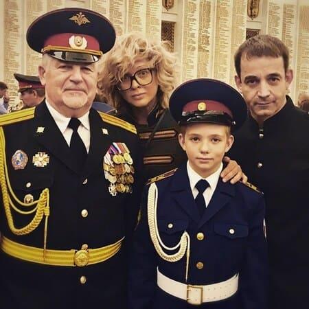 Елисей Певцов в кадетском училище