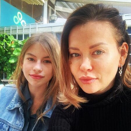 Сестра Ирины Шейк с дочерью
