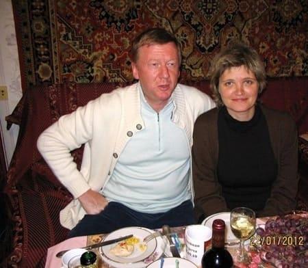 Свадьба Авдотьи Смирновой и Анатолия Чубайса