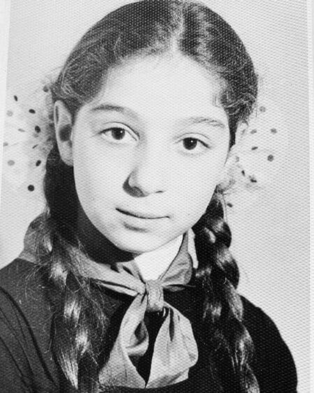 Фото Симоны в юности