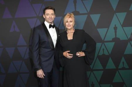 Хью Джекман и его жена Деборра-Ли Фернесс