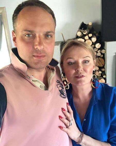Максим Вербицкий с мамой Ларисой