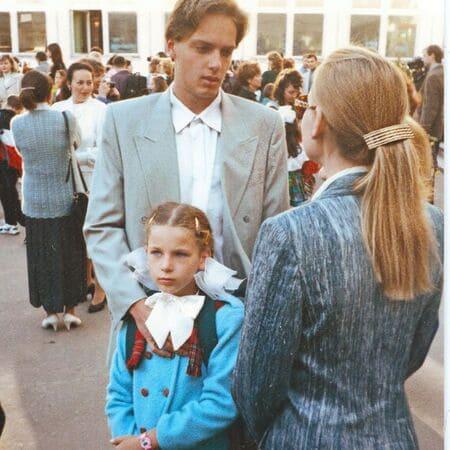 Лариса Вербицкая с детьми