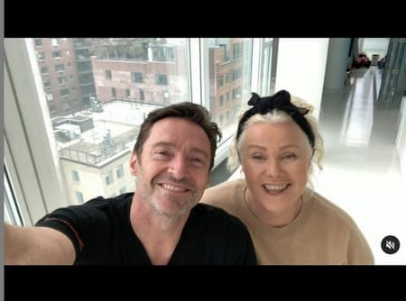 Хью Джекман и его жена Деборра-Ли Фернесс сейчас без фильтров