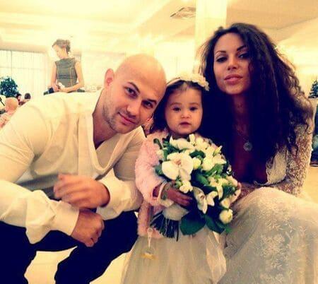 Джиган и Самойлова в день свадьбы