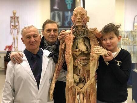 Сын Невзорова увлекается анатомией
