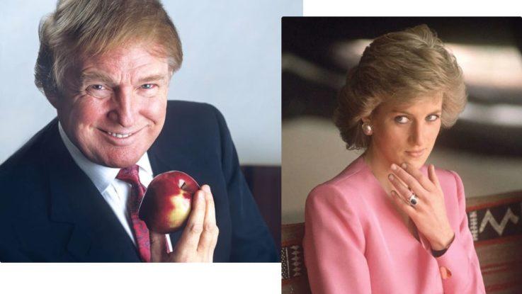 Дональд Трамп и Принцесса Диана