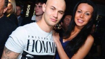 Джиган и Оксана Самойлова вскоре после знакомства