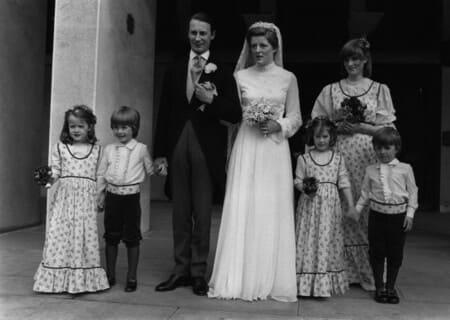 Свадьба сестры Дианы Джейн