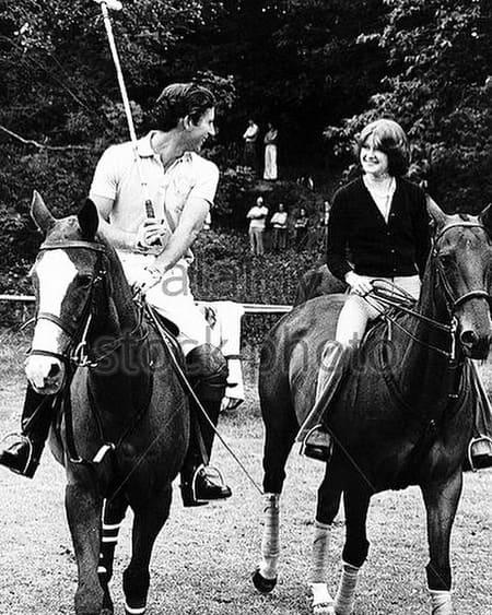 Принц Чарльз и сестра Дианы Сара