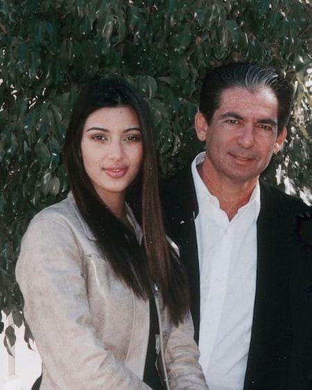 Ким Кардашьян с отцом