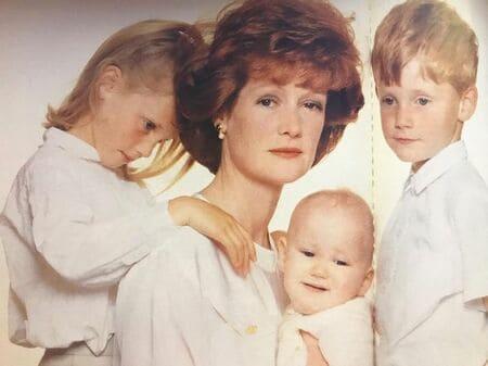 Сестра принцессы Дианы Сара с детьми
