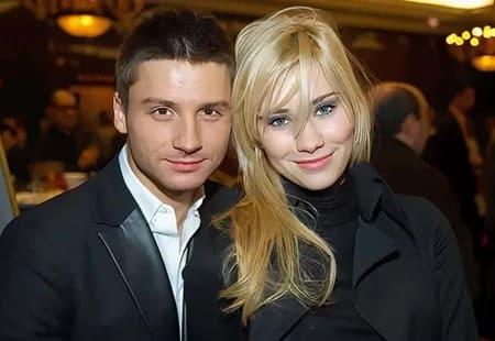 Сергей Лазарев и мама его детей