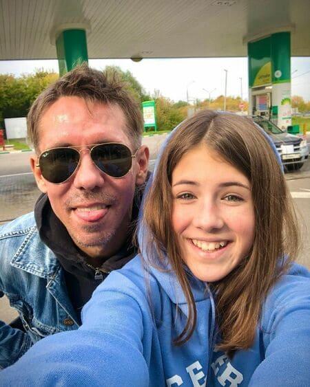 Алексей Панин и его дочь сейчас