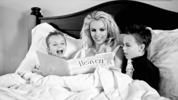 Бритни Спирс с детьми