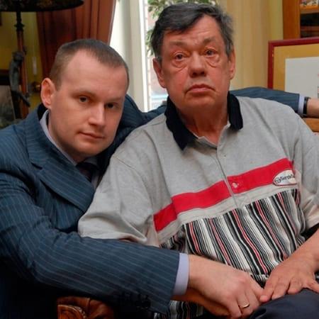 Николай Караченцов с сыном Андреем